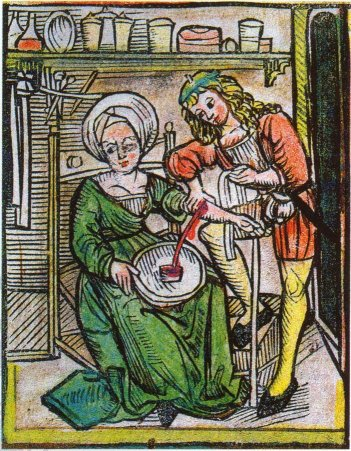 Swapping blood in renaissance during sex