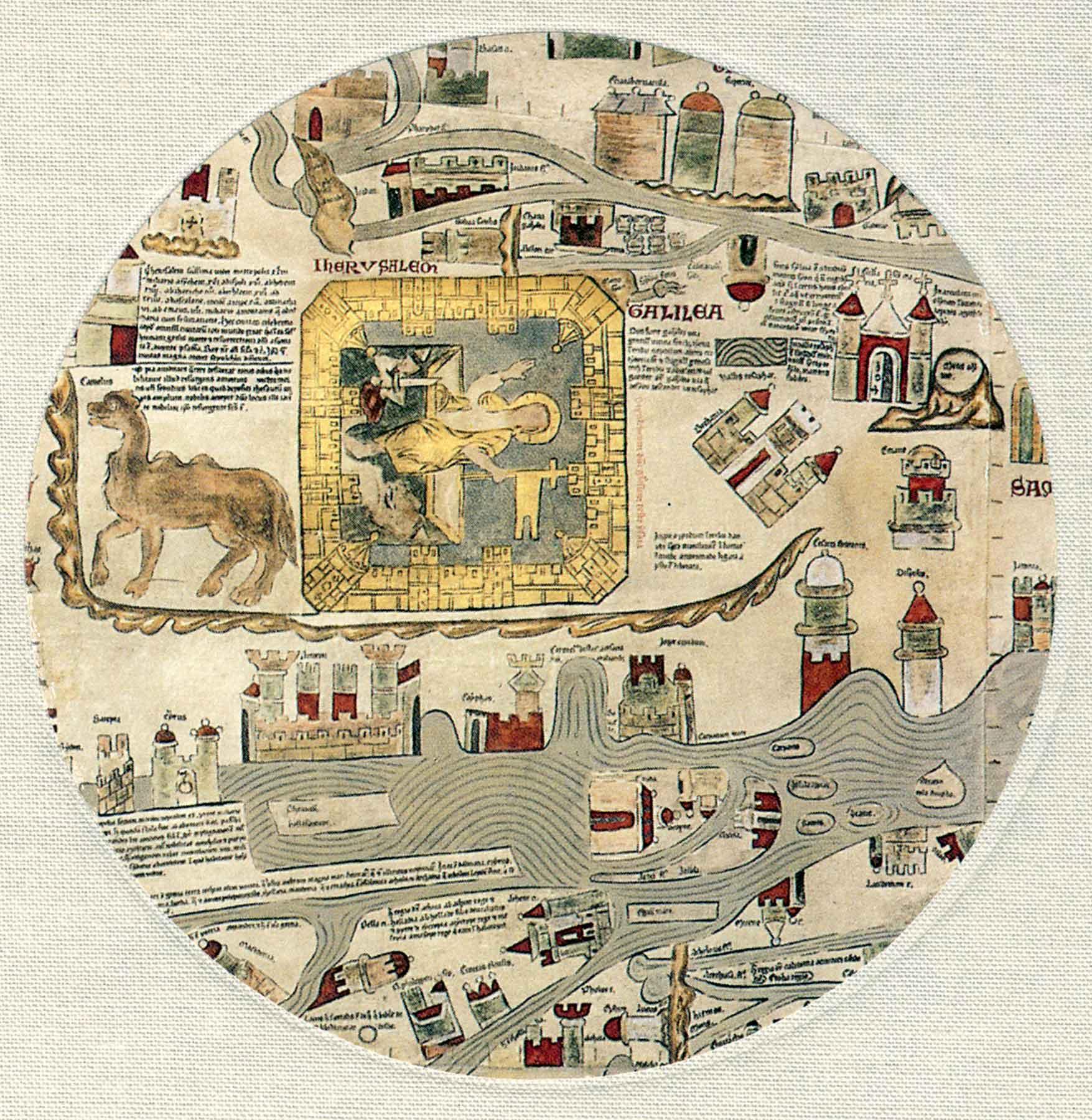 ebstorfer weltkarte beschreibung Die Ebstorfer Weltkarte