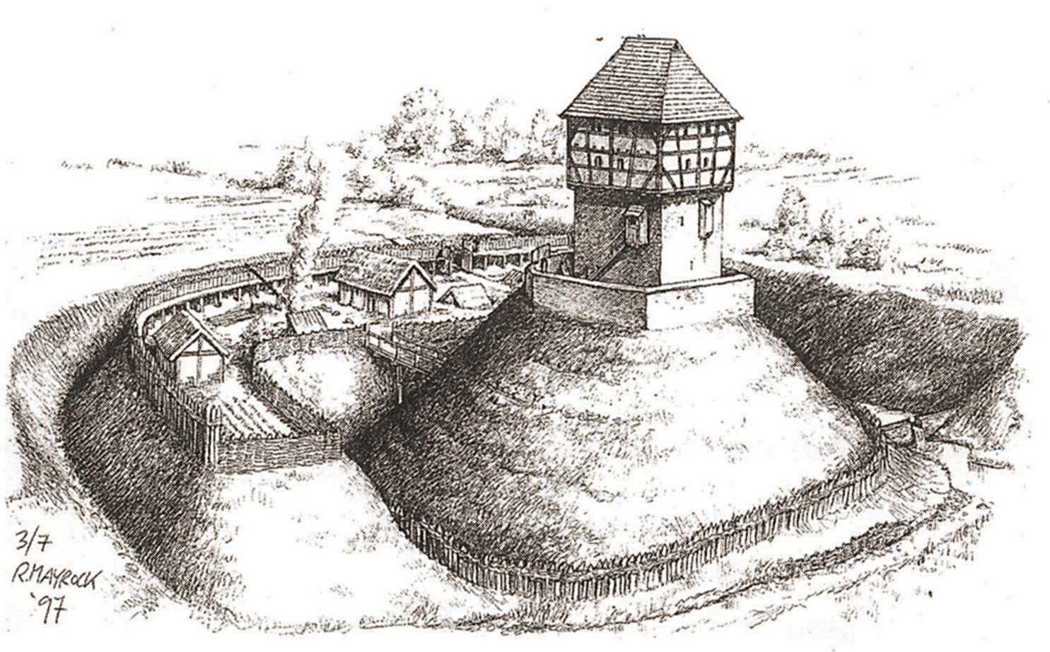 Turmhügelburg Motte